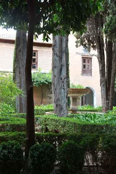 Alhambra ogród