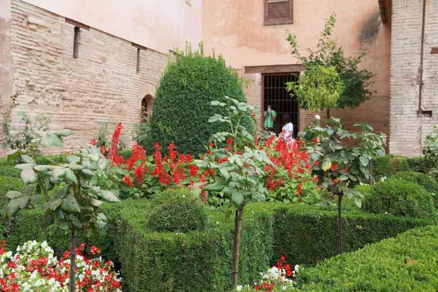 Alhambra ogród 2