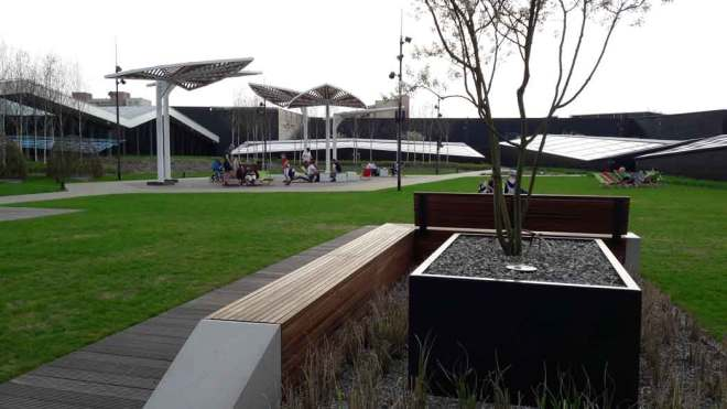Ogród współczesny Galeria Północna