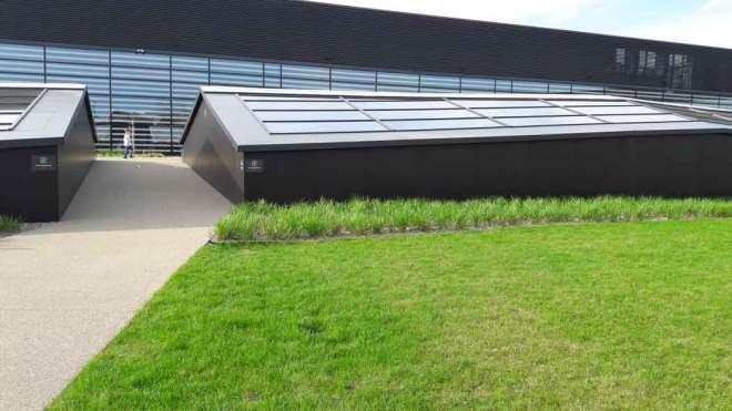 Ogród współczesny (Galeria Północna)- proste geometryczne formy